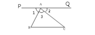 三角形内角和180°